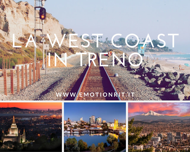 USA: la west coast in treno