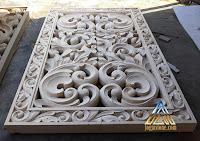 roster ventilasi udara dibuat dari batu alam paras jogja / batu puih
