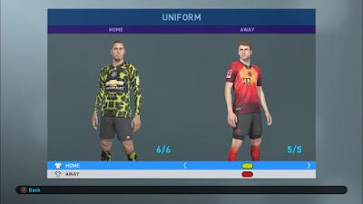 FIFA 19 Adidas x EA Sports Digital 4th Kits for PES 2019