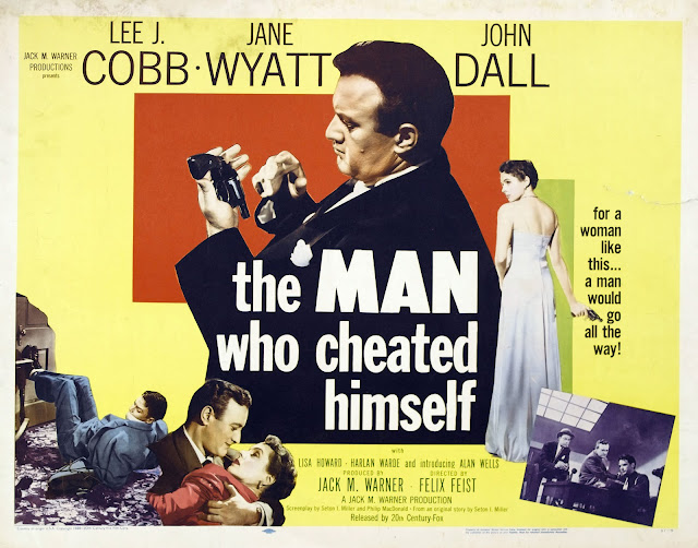 Image result for the man who cheated himself 1950