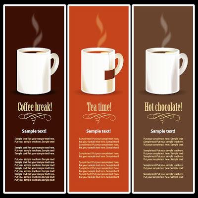 plantilla para broshure de cafe