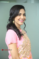 Actress Ritu Varma Pos in Beautiful Pink Anarkali Dress at at Keshava Movie Interview .COM 0132.JPG