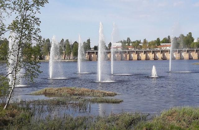 Ainolan puisto Oulu