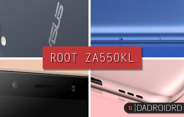 ROOT Asus Zenfone Live ZA550KL