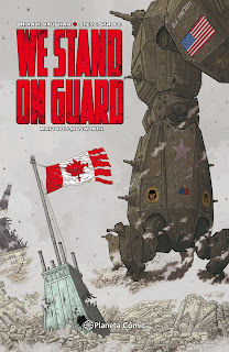 "Reseña de ""We Stand on Guard"" de Brian K.Vaughan y Steve Skroce - Planeta Cómic"