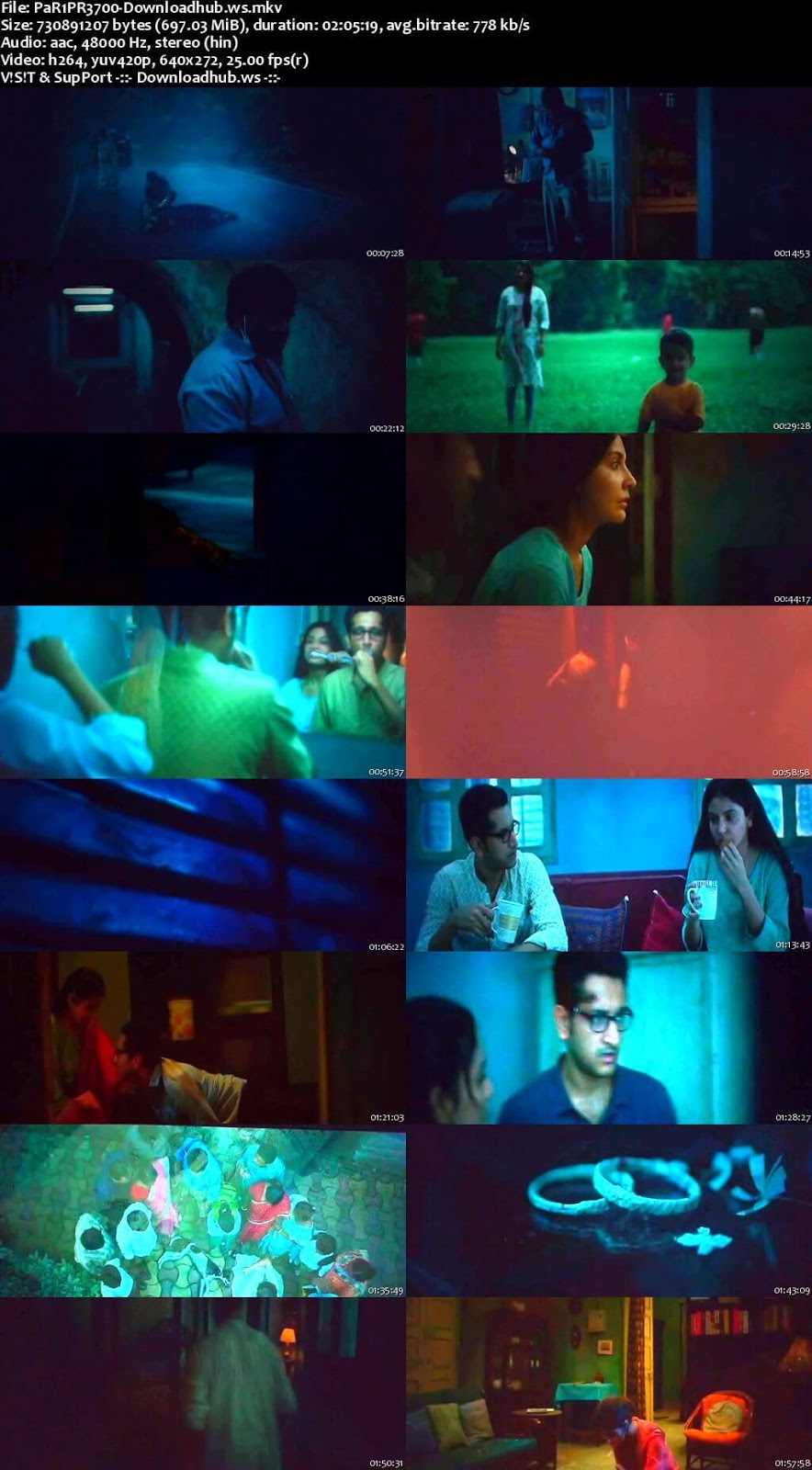 Pari 2018 Hindi 700MB Pre-DVDRip x264
