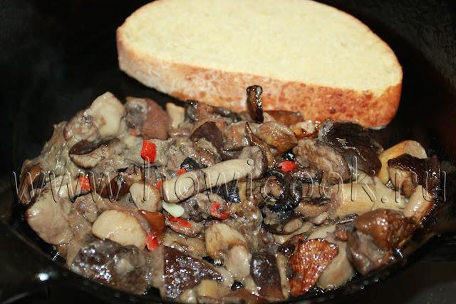 рецепт простого бутерброда с грибами от джейми оливера с пошаговыми фото
