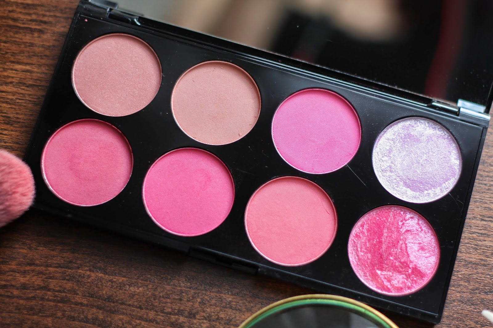 Makeup Revolution Sugar & Spice blush palette