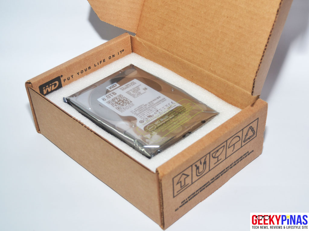 WD Black Hard Drive Unboxing
