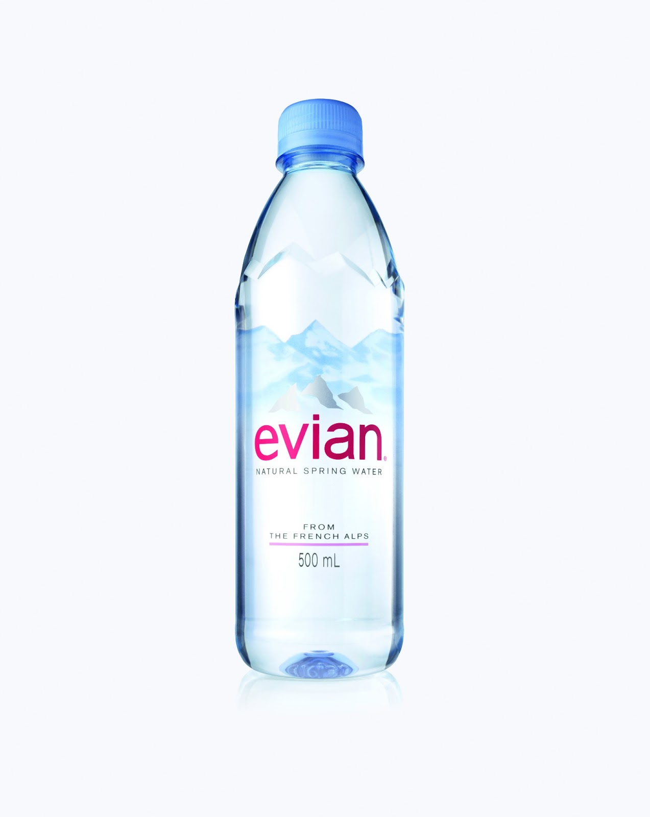 Evian Natural Spring Water Debuts New Bottle Design On