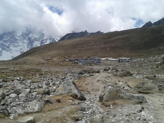 Phericehe in the Everest base camp trek