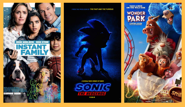 Look New Posters For Instant Family Wonder Park Sonic The Hedgehog