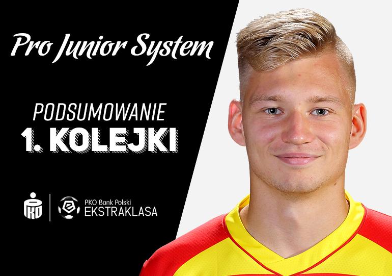 Młodzieżowiec Jagiellonii został pierwszym strzelcem w nowym sezonie PKO Ekstraklasy<br><br>fot. Kamil Świrydowicz / Jagiellonia Białystok / jagiellonia.pl<br><br>graf. Bartosz Urban