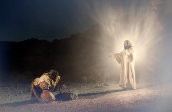 paul meet jesus road to damascus