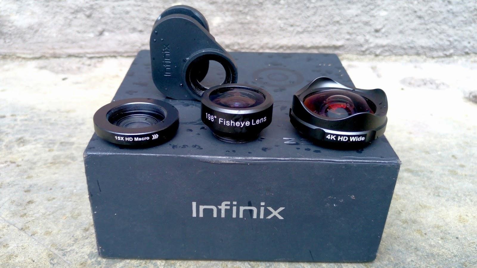 The Infinix X-Lens Mobile Lens Kit