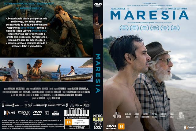 Capa DVD Maresia