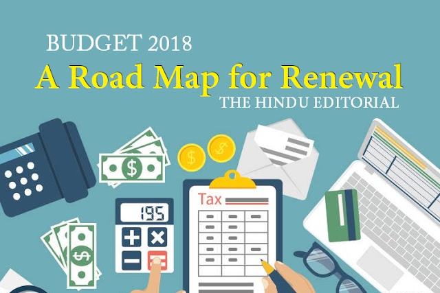 A Road Map for Renewal THE HINDU EDITORIAL