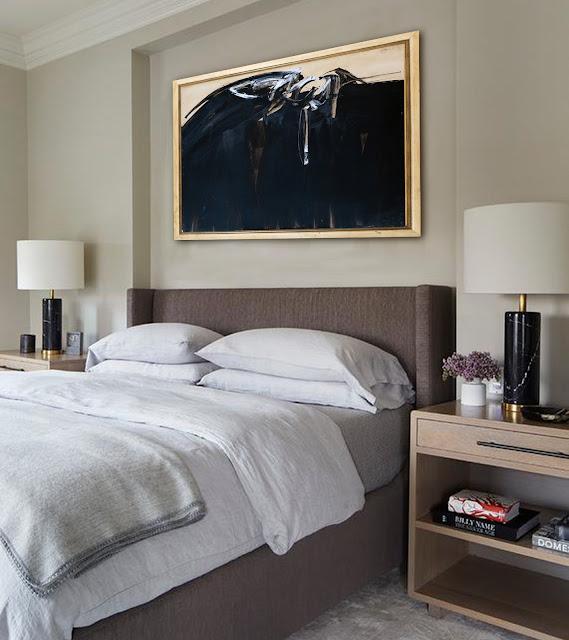 Obras de arte para decorar dormitorio cuadro de Joan Hernández Pijuan