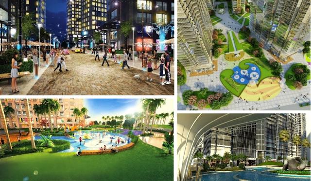 Không gian cảnh quan dự án Booyoung Vina