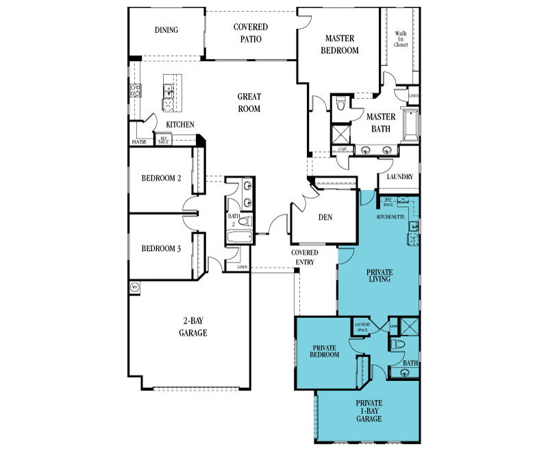 Lennar Floor Plans 2007 Freedom New Home Plan In Estates