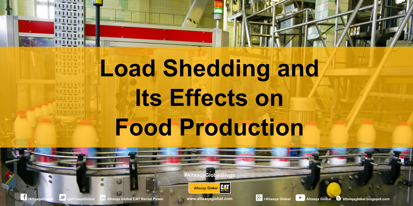 Load Shedding: Altaaqa Global: Load Shedding Throws Food Production Into