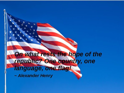 Happy Flag Day Quotes 2016: on what rests the hope of the republic, one country, one language, one flag!