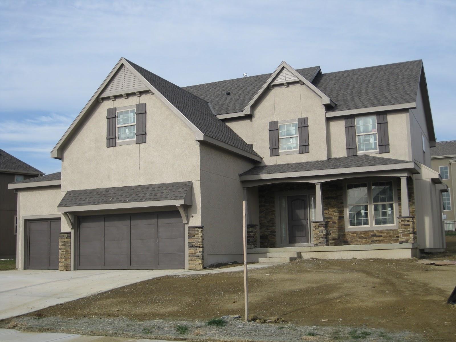 Life love larson exterior paint colors - Exterior house colors with black trim ...