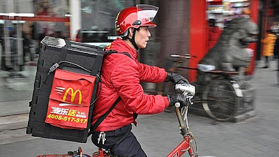 mcdonald's delivery service drives growth in foreign markets