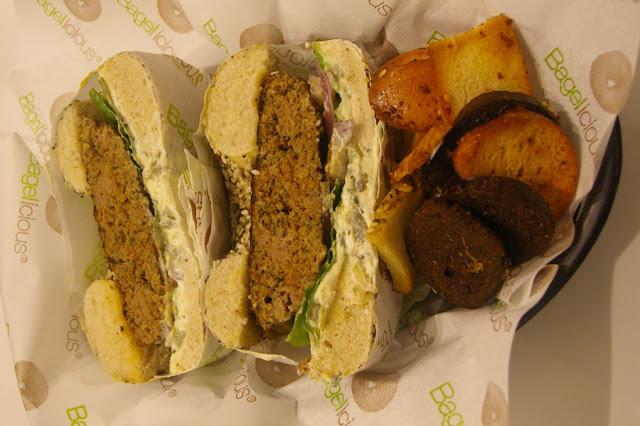 Bagelicious, Hawthorn, burger bagel