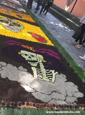 Tapetes Florales de Patamban, Michoacán