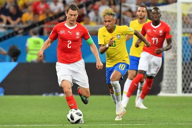 Pertandingan Brazil Melawan Switzerland Yang Berakhir Draw 1-1
