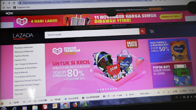 Ayo Berburu Hot Deals di Lazada pada 11.11