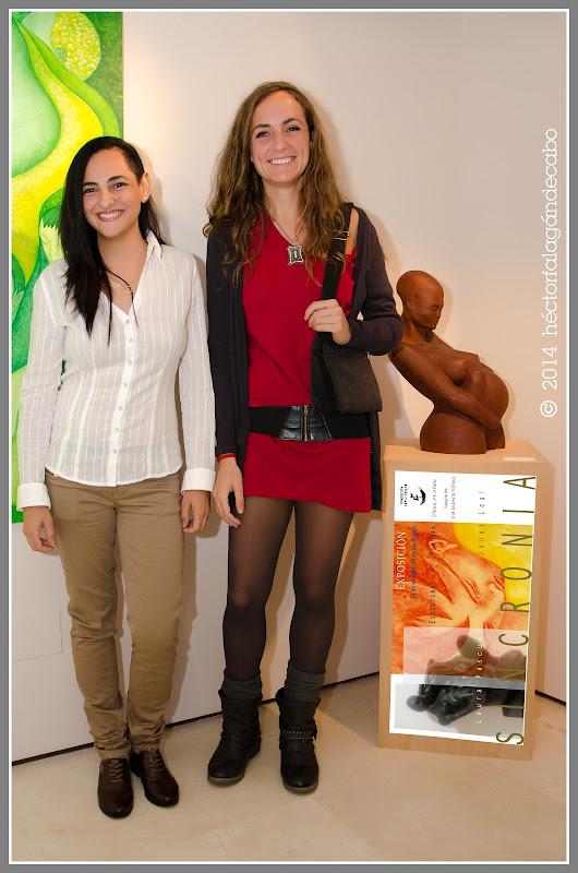 Laura Pascual | Janet Leal | Exposición Sincronía. Fotografías: Héctor Falagán De Cabo.