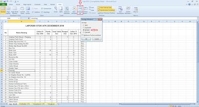 Cara Menampilkan Dua Sheet Dalam Satu File Excel Cara Menampilkan Dua Sheet Dalam Satu File Excel