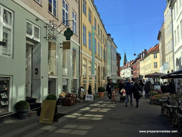 calle centro de copenhague