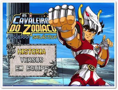 Jogo Cavaleiros do Zodíaco - A Guerra Galáctica PC Capa