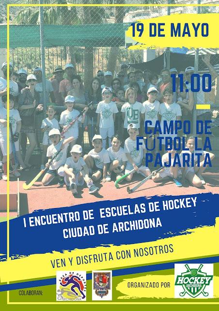 I Encuentro de Escuelas de Hockey en Archidona
