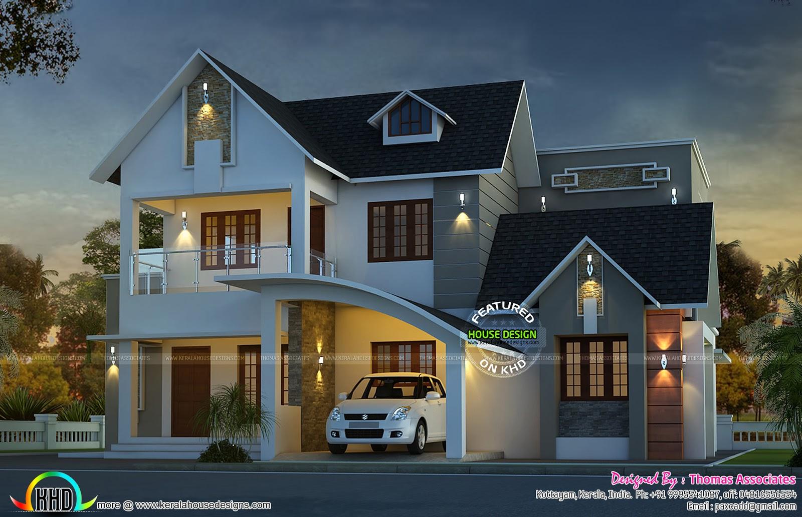 Elegant Design Of A Modern Home