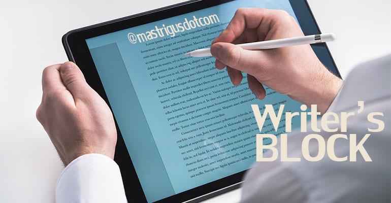 Alasan Kenapa Sulit Menulis Seperti Dulu