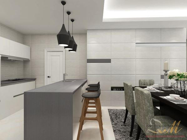 Dapur pilihan anda, dapur menarik, rekaan dapur simple dan menarik