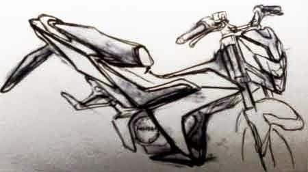 sketsa Honda CS150RS