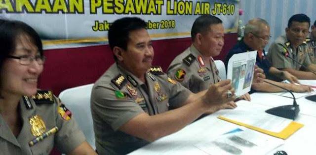 Satu Bagian Tubuh Jenazah Korban Lion Air JT-610 Berhasil Diidentifikasi