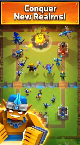 Hack / Cheat Royale Clans Clash of Wars Terbaru