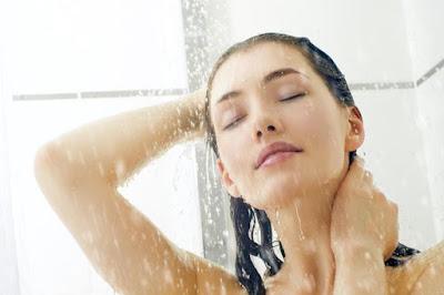 Efecto agua caliente en piel