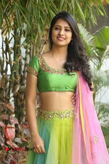Actress Nikitha Bisht Stills in Lehenga Choli at Pochampally Ikat Art Mela Launch  0061.JPG