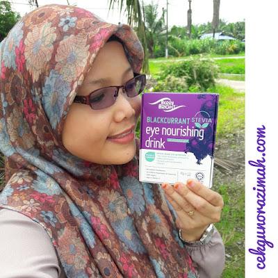 berry bright, eye supplement, suplemen mata, minuman kesihatan untuk mata, tips penjagaan mata, kurangkan masalah lingkaran bawah mata, eye nourishing drink,