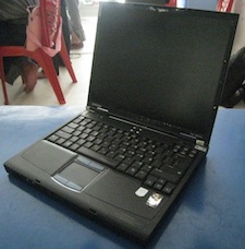 jual laptop 2nd compaq evo n600c