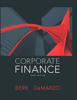 Corporate Finance : Berk DeMarzo Download Free Finance Book