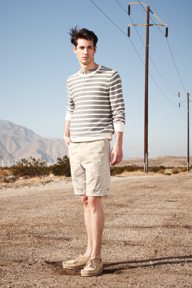 Club Monaco 2012 S/S Collection.