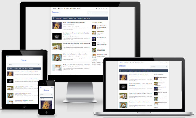 Snowseo Clean Responsive Blogger Templates